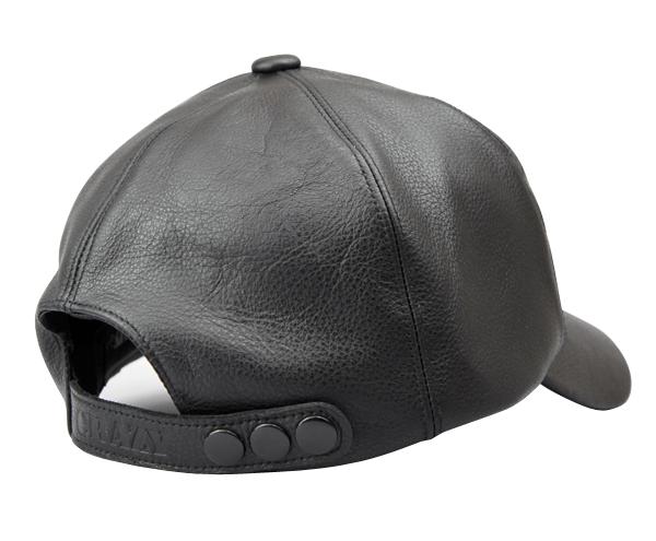 CRAZY LEATHER CAP::TYPE H (クレイジー レザーキャップ::タイプ エイチ)
