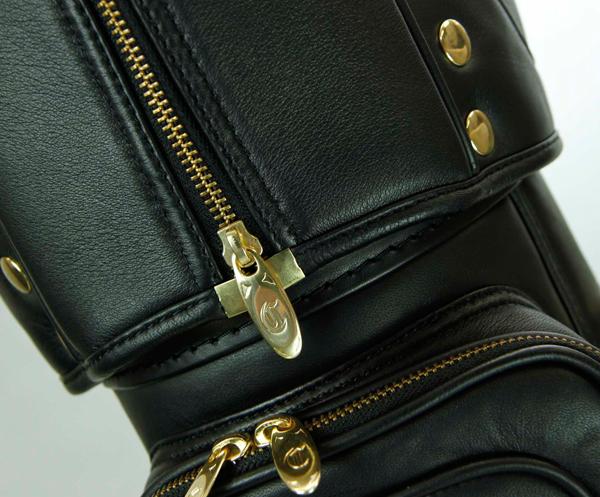クレイジースマートバッグ NEW :: BLACK/GOLD 本革