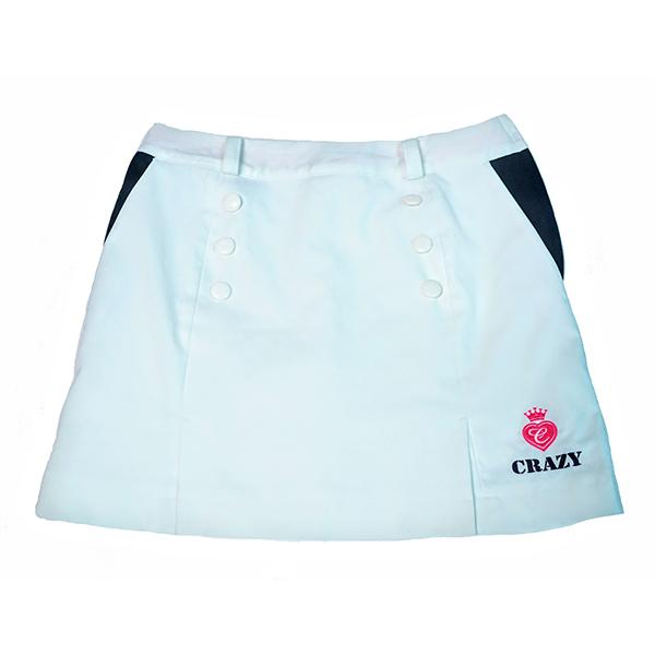 CRAZY LADIES` STRETCH TWILL TRENCH SKORT (CRAZY レディス ストレッチツイル トレンチスカート)